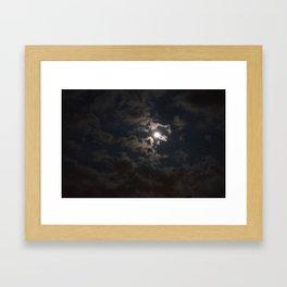 Moonlit Moment Framed Art Print