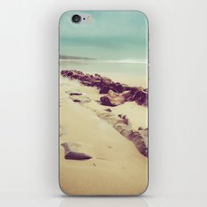Blue Ocean Beach Rocks in Oregon iPhone & iPod Skin
