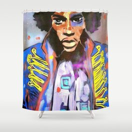 JIMI Shower Curtain