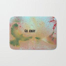Go Away Bath Mat