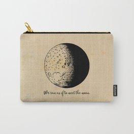 Robert Frost - Meet the Moon Carry-All Pouch