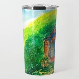 Grandma hobbit's home Travel Mug