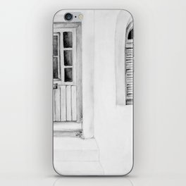 Greek Doorway iPhone Skin