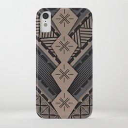 UrbanNesian V Tatau Design iPhone Case