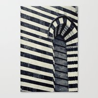 striped Canvas Prints featuring Striped by farsidian