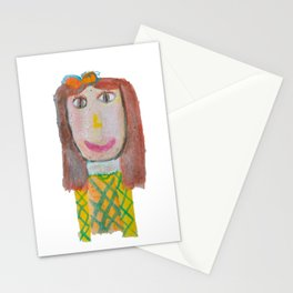 Van Gogh's girlfriend #society6 Stationery Cards