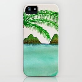 The Lanikai Love iPhone Case