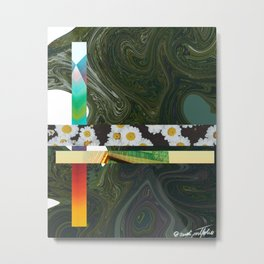 Green Mix Metal Print