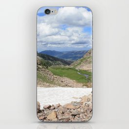 August Snow iPhone Skin