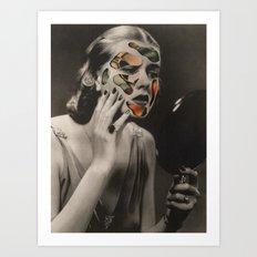 Mirror, my beautiful mirror (2015) Art Print