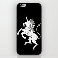 unicorn iPhone & iPod Skins featuring UNICORN by Matthew Taylor Wilson