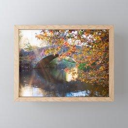 Central Park Morning Framed Mini Art Print
