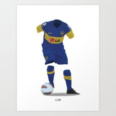 Boca Juniors 2011/12 Art Print