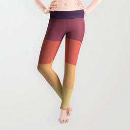 Colorful Evening Pattern Leggings