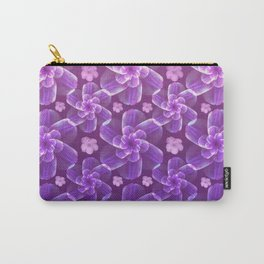 flowing florals Carry-All Pouch