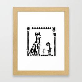 Xoloitzcuintle Framed Art Print