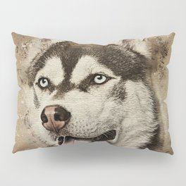 Siberian Husky Pillow Sham