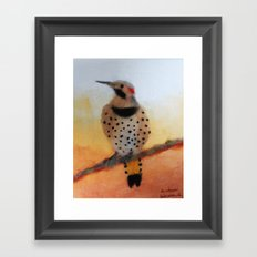 Eastern Fliker Framed Art Print