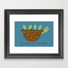 Logans Tortoise-Turtle Framed Art Print