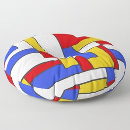 Inspired by a Bus Floor Pillow