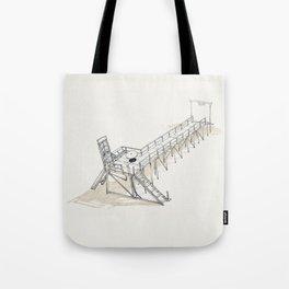 On Paper: Doorway Tote Bag