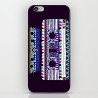 tape iPhone & iPod Skins featuring Mix Tape # 10 by Bianca Green