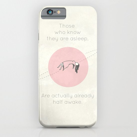 The Insomnia of Heisenberg iPhone & iPod Case