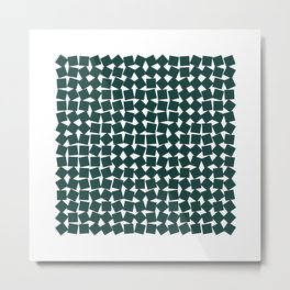 #256 Two-hundred and fifty-six squares – Geometry Daily Metal Print