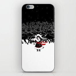Night of Reindeer iPhone Skin
