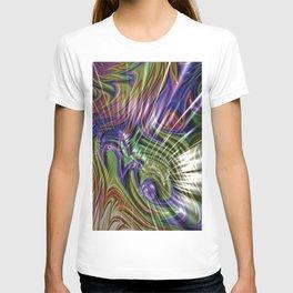 Abstract Colour Splash T-shirt