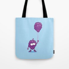 Grapes With Balloons Tote Bag