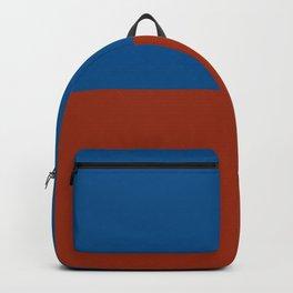 E for Echo nautical maritime flag Backpack