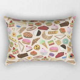 Desserts of NYC Cream Rectangular Pillow