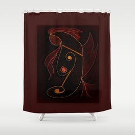 Ygraine Shower Curtain