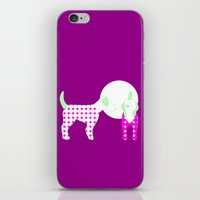 puppies iPhone & iPod Skins featuring Puppies by Silja Rouvinen