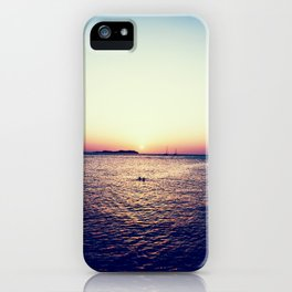 An Ibiza Sunset iPhone Case
