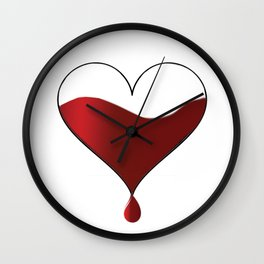 My heart knocking for you. Wall Clock