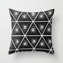 Pattern Ovni Girl Throw Pillow
