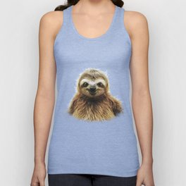 Young Sloth Unisex Tank Top