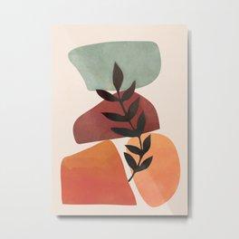 Geometry Abstract 4 Metal Print