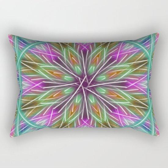 Holiday Window Rectangular Pillow
