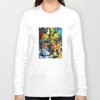 underwater Long Sleeve T-shirts featuring Underwater by Klara Acel