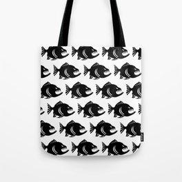 piranna pattern Tote Bag