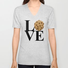 LOVE Cookies Unisex V-Neck