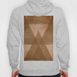 Distressed Triangles Hoody