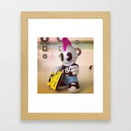 Kid Robot Framed Art Print