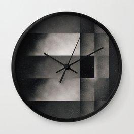 Interlocked realities Wall Clock
