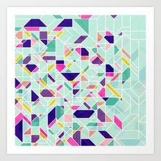 GeoLine Art Print