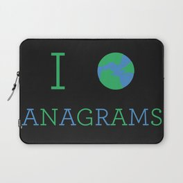 I heart Anagrams Laptop Sleeve