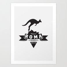 Roma, Australia Art Print
